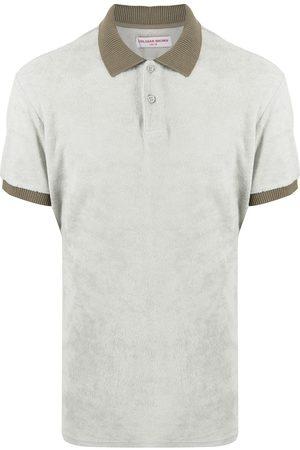Orlebar Brown Contrast-trim cotton polo shirt