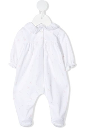KNOT Long sleeves - Embroidered long-sleeve babygrow - Neutrals