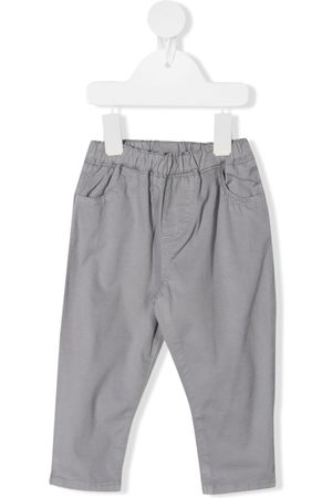 KNOT Elasticated-waistband trousers - Grey