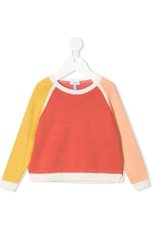 KNOT Girls Sweatshirts - Colour block sweatshirt