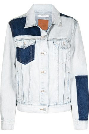 REMAIN Women Denim Jackets - Denim patch jacket