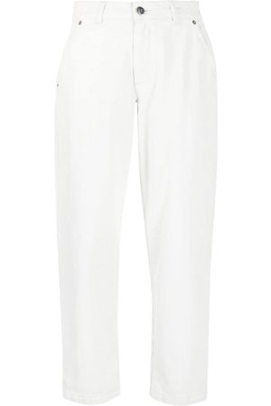 SEMICOUTURE Women High Waisted - High-rise mom-fit jeans