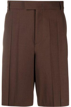 VALENTINO Pleat-detail shorts