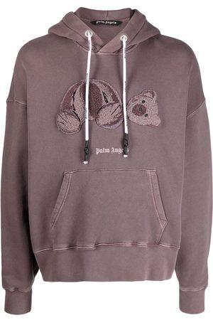 Palm Angels Bear motif hoodie