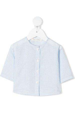 Zhoe & Tobiah Striped round-neck shirt