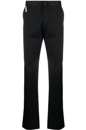 VERSACE Gabardine chino trousers