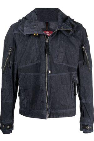 Parajumpers Creased-effect denim-finish jacket