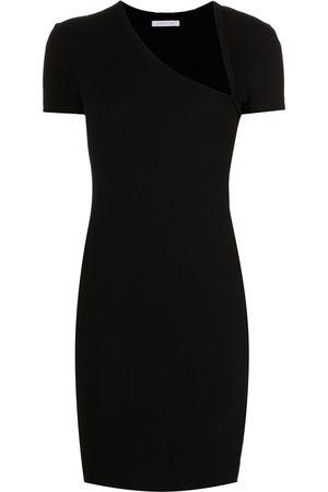 JOHN ELLIOTT Asymmetrical fitted mini dress
