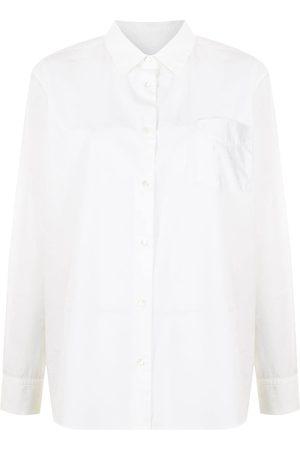 NILI LOTAN Chest-pocket poplin shirt