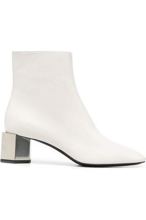 OFF-WHITE Block-heel boots - Grey