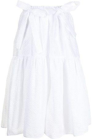 Cecilie Bahnsen Women Midi Skirts - Textured flared midi skirt