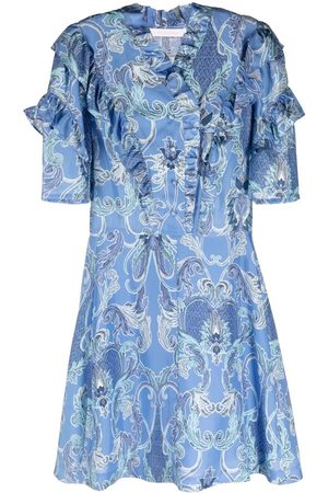 See by Chloé Women Party Dresses - Ruffled mini dress