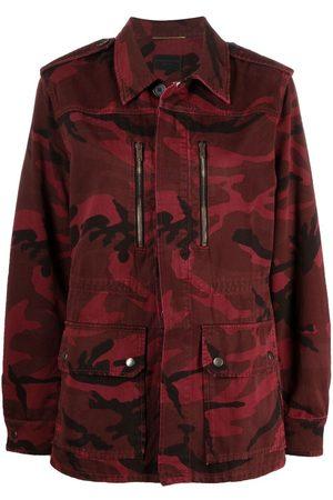 Saint Laurent Women Denim Jackets - Camouflage-print jacket