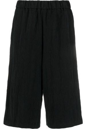 BARENA Elasticated long-length shorts