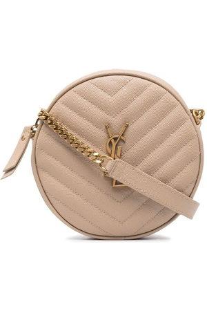 Saint Laurent Vinyle round crossbody bag - 2721