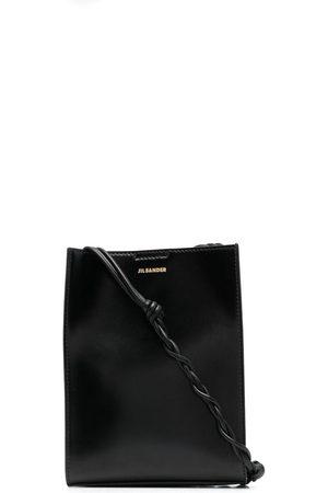 Jil Sander Tangle leather shoulder bag