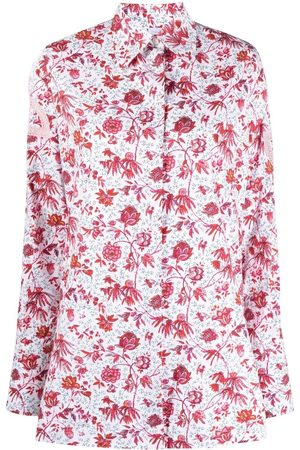 Patou Floral-print long-sleeved shirt