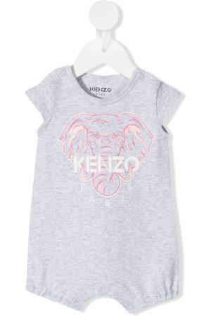 Kenzo Elephant motif shorties - Grey