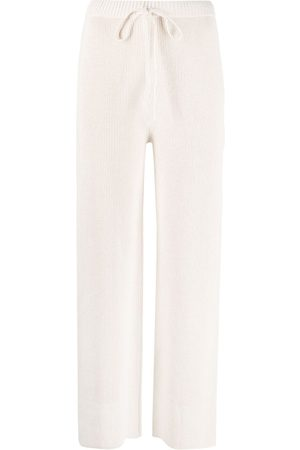 Joseph Women Straight Leg Pants - Drawstring straight-leg trousers - Neutrals