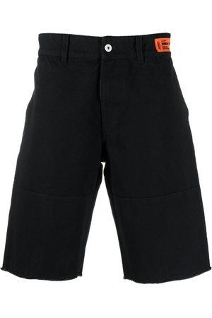 Heron Preston Men Bermudas - Logo patch Bermuda shorts