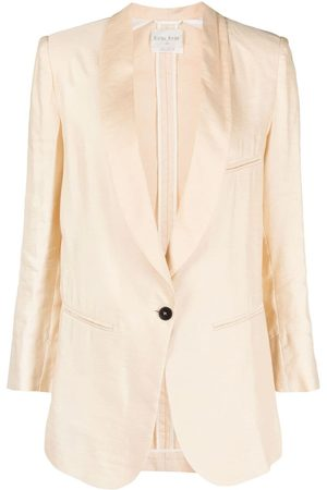 FORTE FORTE Single-breasted jacket - Neutrals
