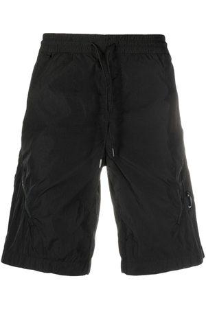 C.P. Company Lens-embellished track shorts