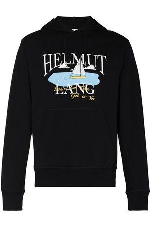 Helmut Lang X Saintwoods sea-print hoodie