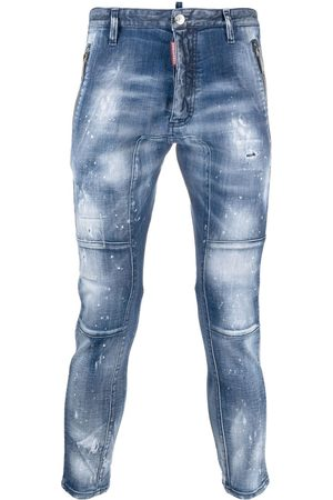 Dsquared2 Distressed-effect cropped jeans