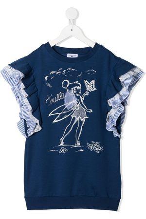 MONNALISA Girls Printed Dresses - Tinker Bell-print dress