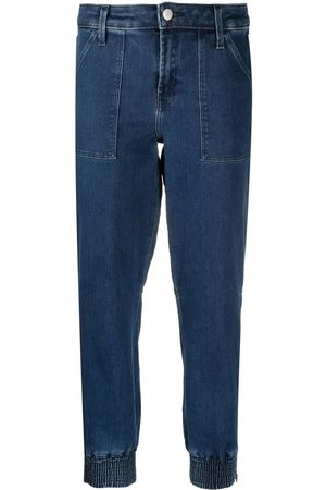 J Brand Cropped tapered jeans