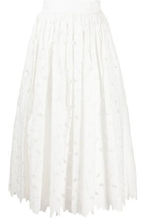 RED Valentino Cut-out midi skirt