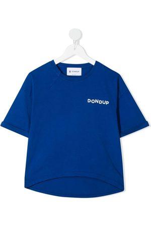 DONDUP KIDS Boys T-shirts - Logo-print cotton T-Shirt