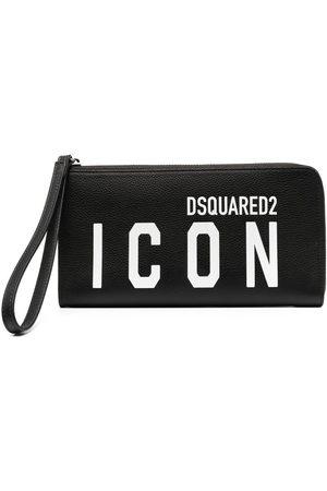 Dsquared2 Icon zip-around purse