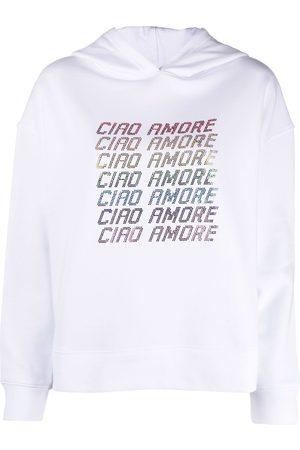GIADA BENINCASA Slogan print hoodie
