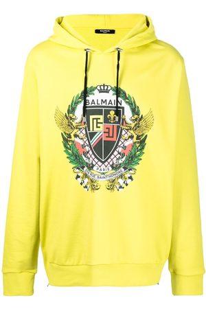 Balmain Graphic-print hoodie