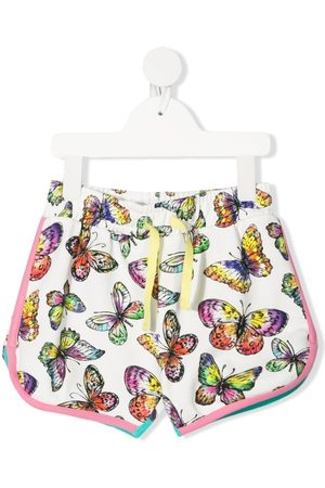 Stella McCartney Butterfly-print shorts