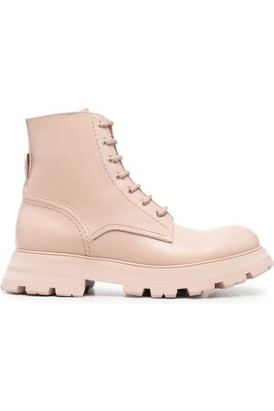 Alexander McQueen Wander lace-up boots