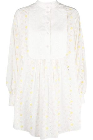 See by Chloé Women Casual Dresses - Broderie-anglaise shirt dress