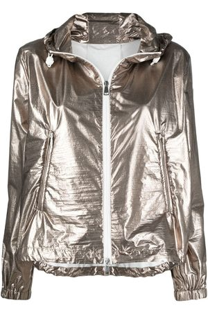 Moncler Eschamali hooded jacket - Metallic