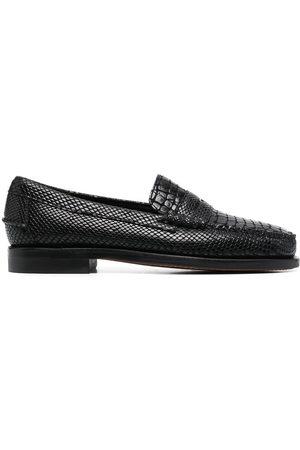 SEBAGO Dan Cocco crocodile-effect loafers