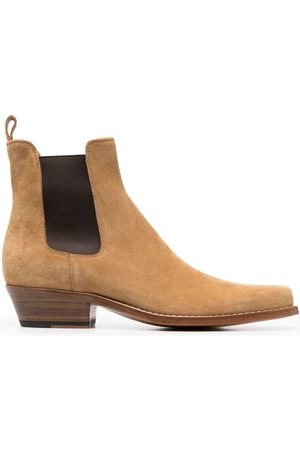 Buttero Suede ankle boots - Neutrals