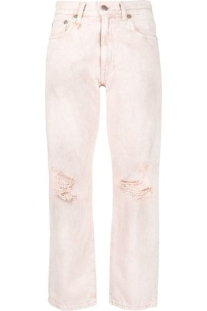R13 High-rise straight-leg jeans