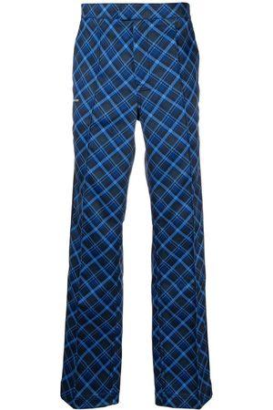 adidas Check print trousers