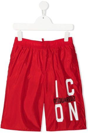 Dsquared2 Icon-print swim shorts