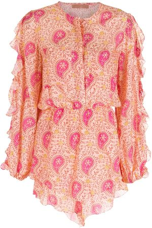 CLUBE BOSSA Women Playsuits - Printed short sleeves playsuit