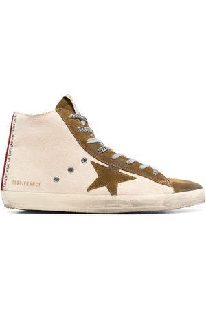 Golden Goose Men Sneakers - Francy Quarter high-top sneakers - Neutrals