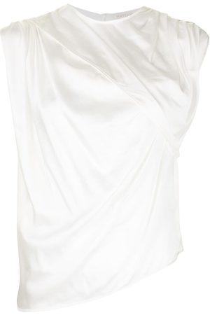 MATÉRIEL by Aleksandre Akhalkatsishvili Women Blouses - Ruched silk blouse