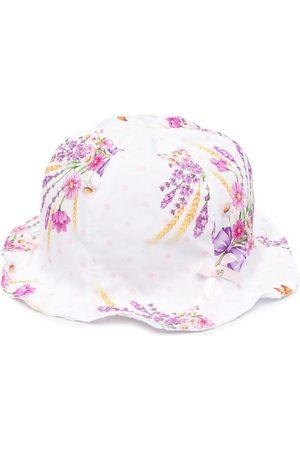 MONNALISA Floral print sun hat