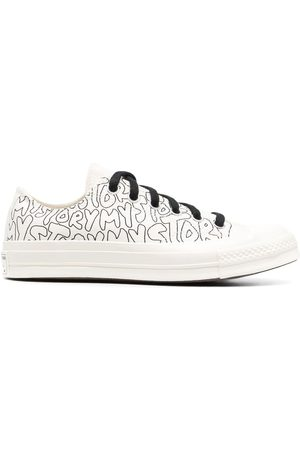 Converse Chuck 70 My Story-print low-top sneakers - Neutrals