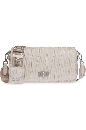 Miu Miu Matelassé shoulder bag - Grey